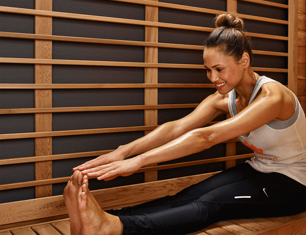 infrared sauna treatment